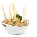 Swedish Style Meatballs Royalty Free Stock Photo