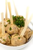 Swedish Style Meatballs Stock Images