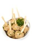 Swedish Style Meatballs Royalty Free Stock Photos