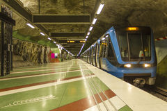 Swedish subway Stock Images