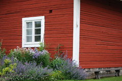Swedish summer house Royalty Free Stock Photography