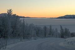 Swedish Sunrise Stock Images