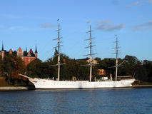 Swedish Tall Ship Stock Photography
