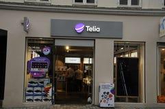 SWEDISH TELIA  AND NORWEGIAN TELENOR Royalty Free Stock Photography