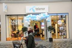 SWEDISH TELIA  AND NORWEGIAN TELENOR Stock Images