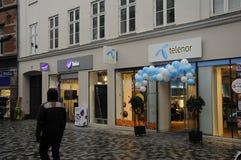 SWEDISH TELIA  AND NORWEGIAN TELENOR Royalty Free Stock Photos