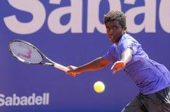 Swedish tennis player Elias Ymer Royalty Free Stock Photography
