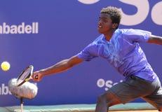 Swedish tennis player Elias Ymer Stock Photo