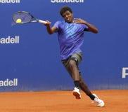 Swedish tennis player Elias Ymer Royalty Free Stock Photos
