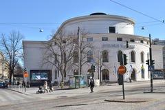 Swedish theatre Helsinki Royalty Free Stock Image