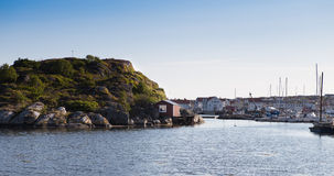 The swedish town of Marstrand 2. This is the swedish coastal town of Marstrand located outside gothenburg Stock Photography