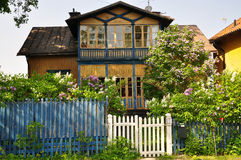 Swedish traditional house Royalty Free Stock Image