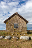 Swedish Traditional Stone House Royalty Free Stock Photo