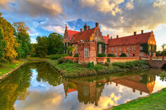 Swedish Trolle-Ljungby Castle. Renaissance Trolle-Ljungby Castle in southern Sweden Royalty Free Stock Photo