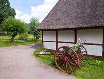 Swedish village. Royalty Free Stock Image
