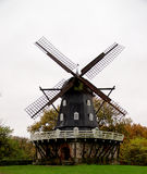 Swedish Windmill. Beautiful Old Swedish Windmill in Malme Outdoors Royalty Free Stock Photo