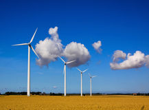 Swedish windpower Stock Images