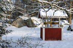 Swedish Winter Farm Stock Image