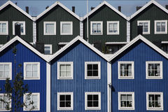Swedish Wooden House Stock Image