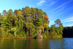 Sweeney Lake Northwoods Wisconsin Royalty Free Stock Images
