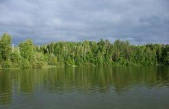 sweeney wisconsin озера стоковые изображения rf
