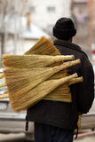 Sweep seller Royalty Free Stock Photo