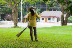 Sweeper Royalty Free Stock Photo