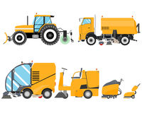 Sweepers Royalty Free Stock Images