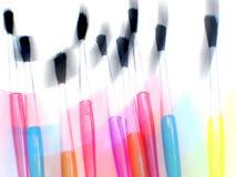 Sweeping Brushes. Photoshop manipulation of paintbrushes vector illustration