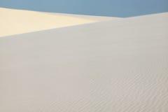 Sweeping dunes in Lencois Maranhenses. Brasil Royalty Free Stock Photo