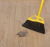 Sweeping Floor Stock Photos