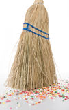 Sweeping up low angle Stock Image