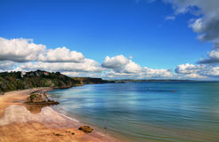 Free Sweeping View Of North Beach, Tenby. Royalty Free Stock Photography - 27997277