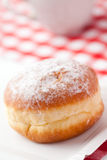 Sweer donut with sugar Stock Photography