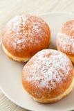 Sweer donuts met suiker Royalty-vrije Stock Foto