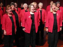 Sweet Adelines Stock Photography
