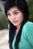 Sweet adorable asian woman Royalty Free Stock Photos