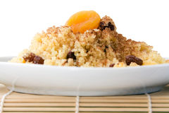 Sweet African Couscous Royalty Free Stock Photography