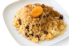 Sweet African Couscous Royalty Free Stock Images