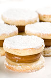 Sweet alfajor Royalty Free Stock Photos