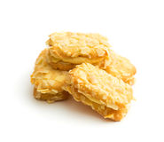 Sweet almond cookies. Royalty Free Stock Images