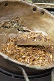 Sweet almonds Royalty Free Stock Photos