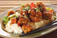 Sweet And Sour Pork Stock Images
