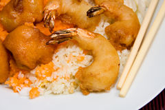 Sweet And Sour Shrimp Royalty Free Stock Photography