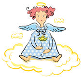 Sweet angel Royalty Free Stock Photo