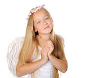 Sweet angel Stock Images