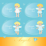 Sweet angels Stock Image