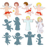 Sweet angels Stock Photos