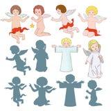 Sweet angels Stock Photos