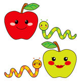 Sweet Apple Friends Stock Images